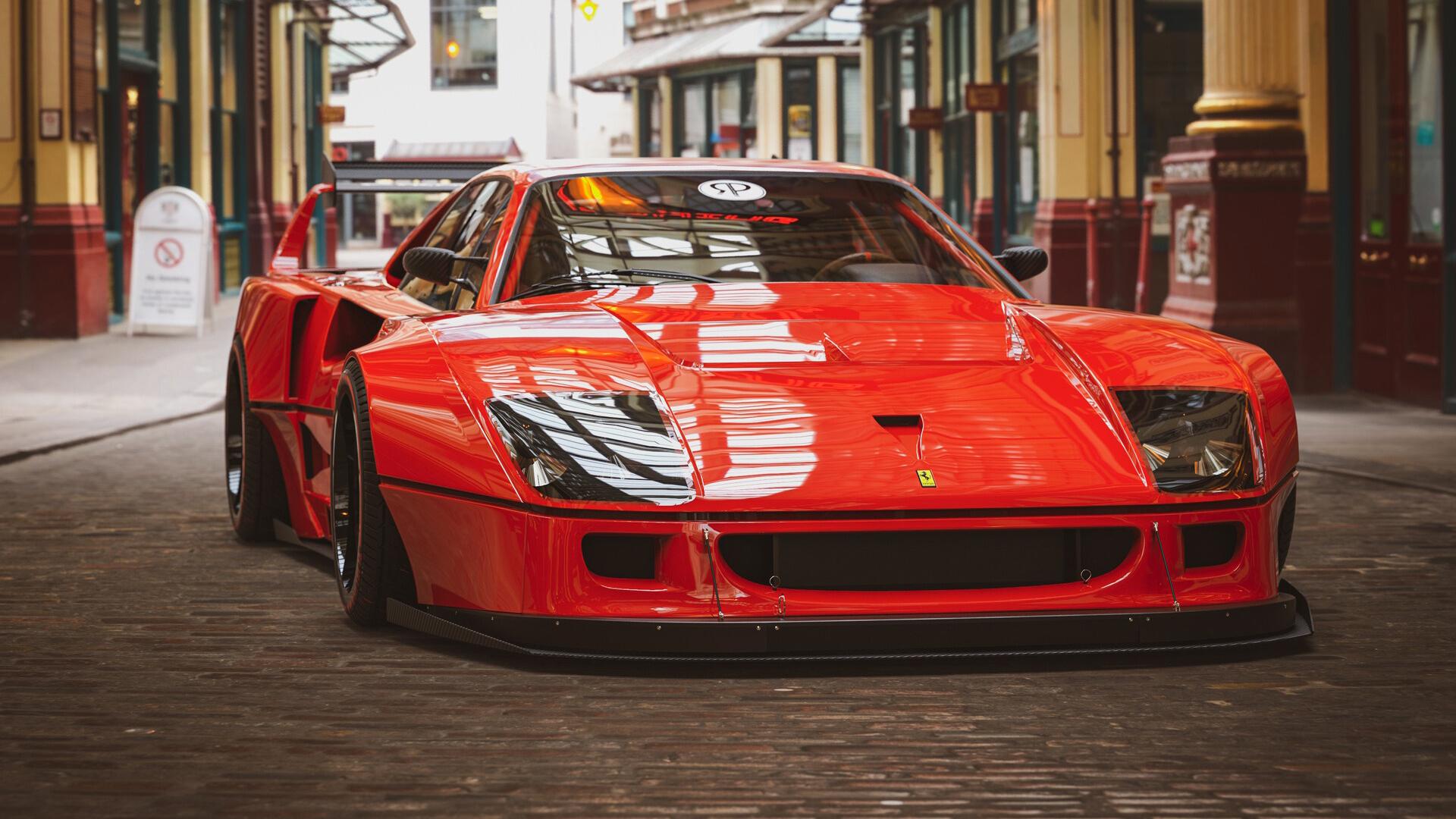 汽车天下,法拉利,红色,跑车