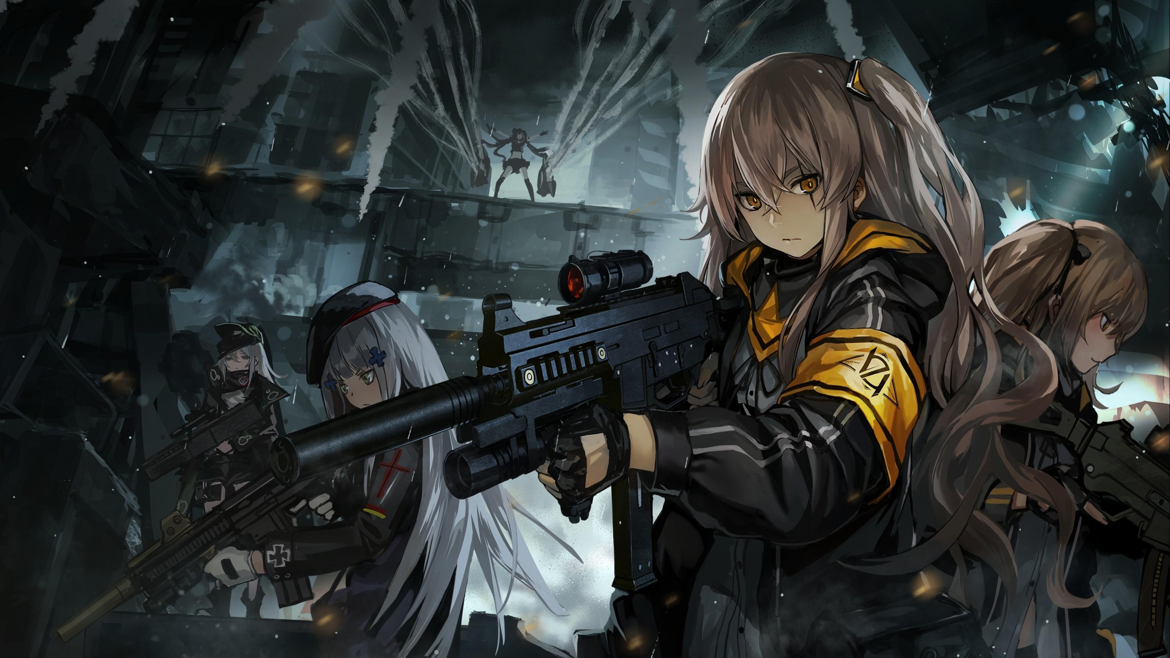 游戏壁纸,手游世界,武装少女