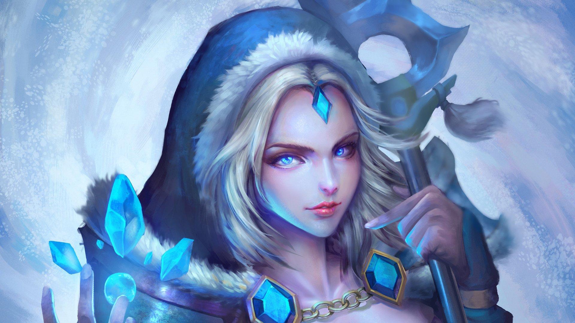 游戏壁纸,DOTA2女神