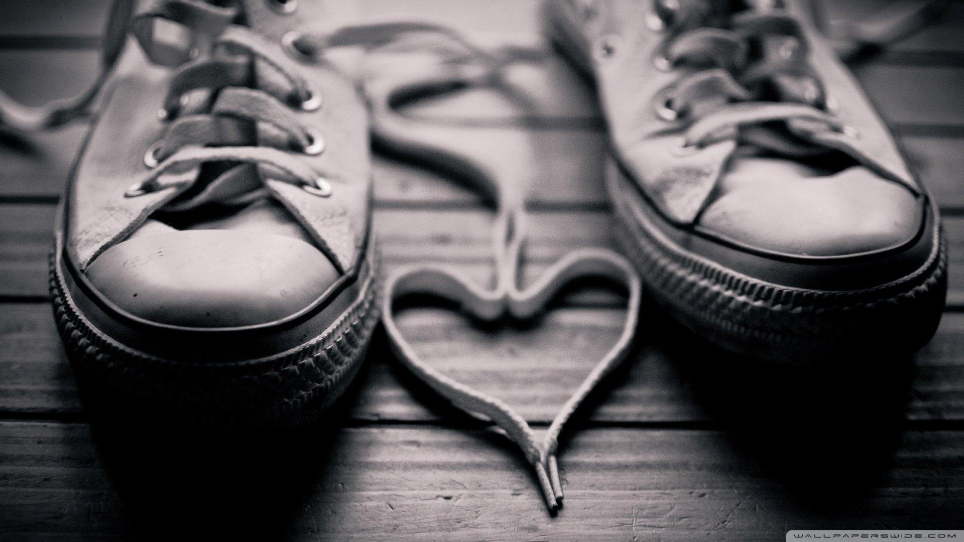 爱情美图,爱情箴言,破旧的鞋子