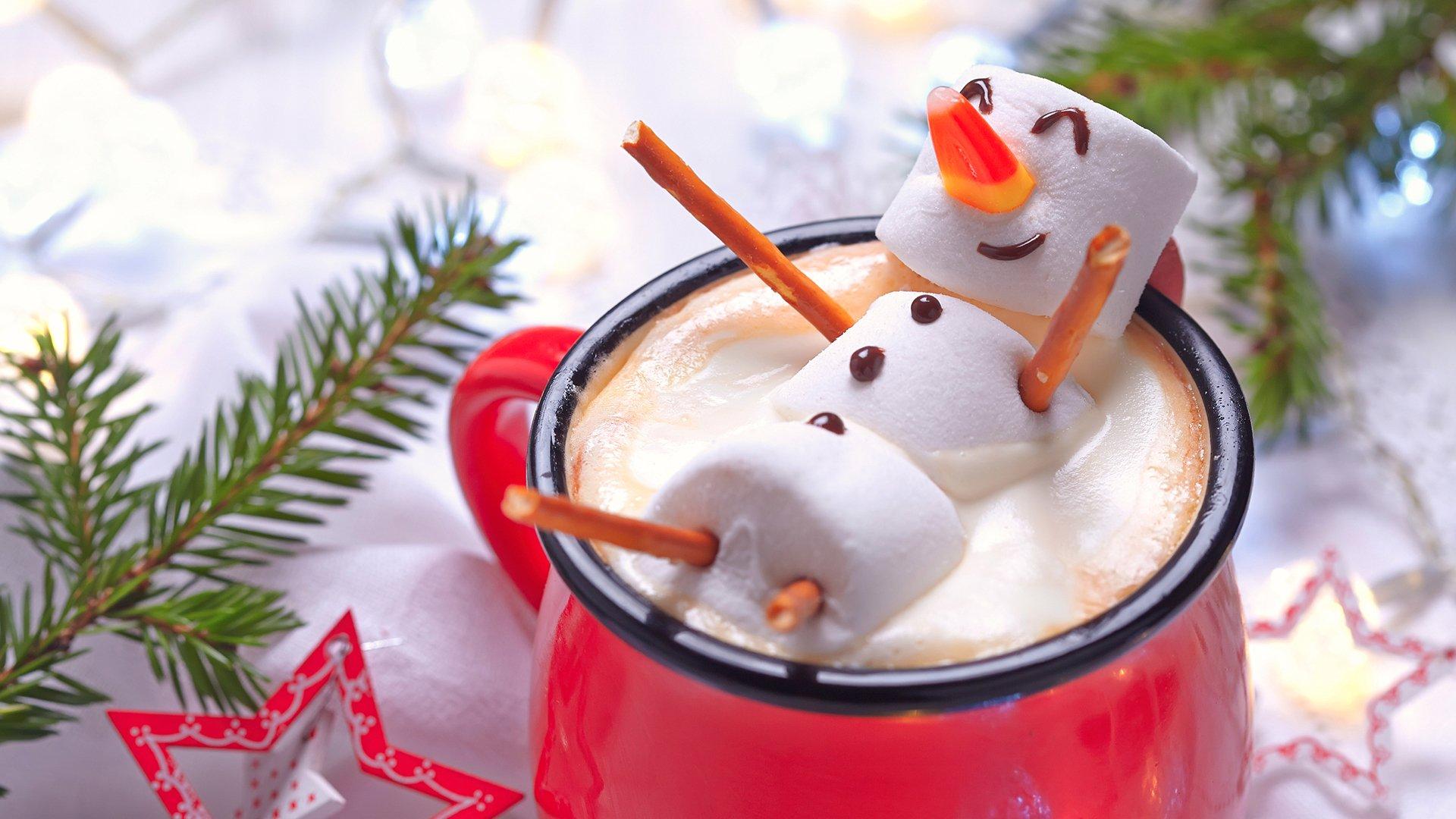 小清新,小清新,温馨一刻,雪人